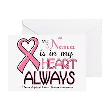 In My Heart 2 (Nana) PINK Greeting Card