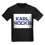 karl rocks Kids Dark T-Shirt