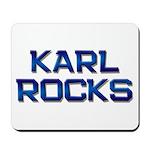 karl rocks Mousepad