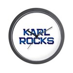 karl rocks Wall Clock