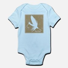 Fly Fishing Lure Infant Bodysuit