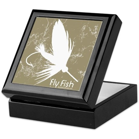 Fly Fishing Lure Keepsake Box