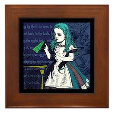 Drink Me Framed Tile