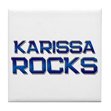 karissa rocks Tile Coaster