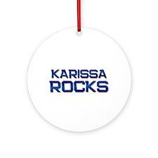 karissa rocks Ornament (Round)