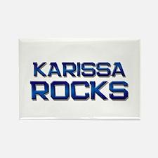 karissa rocks Rectangle Magnet