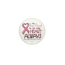 In My Heart 2 (Best Friend) PINK Mini Button (10 p