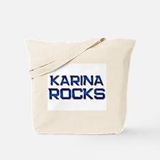 karina rocks Tote Bag