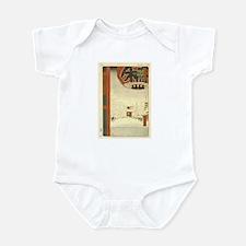 Kinryuzan Temple Asakusa Infant Bodysuit