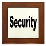 Security Framed Tile