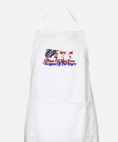 Because Of The Brave BBQ Apron