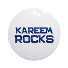 kareem rocks Ornament (Round)