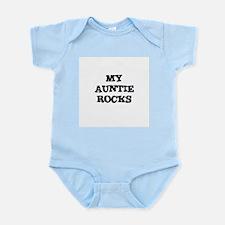 MY AUNTIE ROCKS Infant Creeper