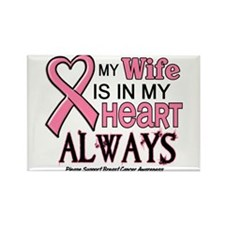 In My Heart 2 (Wife) PINK Rectangle Magnet
