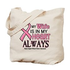In My Heart 2 (Wife) PINK Tote Bag