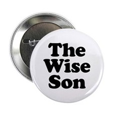 """The Wise Son 2.25"""" Button (10 pack)"""