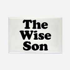 The Wise Son Rectangle Magnet