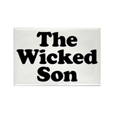 The Wicked Son Rectangle Magnet
