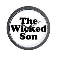 The Wicked Son Wall Clock