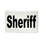 Sheriff Rectangle Magnet (10 pack)