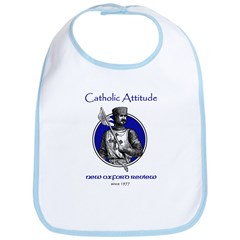 Catholic Attitude Knight Bib