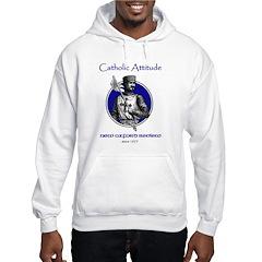 Catholic Attitude Knight Hoodie