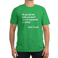 Mark Twain Truth Quote T