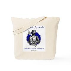Catholic Attitude Knight Tote Bag