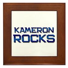 kameron rocks Framed Tile