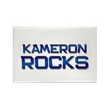 kameron rocks Rectangle Magnet