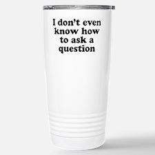 The Silent Son Travel Mug