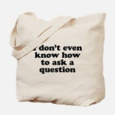 The Silent Son Tote Bag