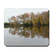 Fall reflections Mousepad