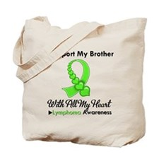 LymphomoaSupportBrother Tote Bag