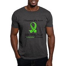 Lymphoma Support Aunt T-Shirt
