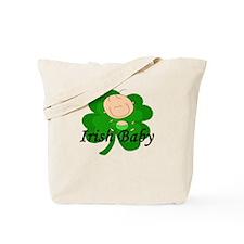 Irish Baby Shamrock Tote Bag