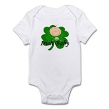 Irish Baby Shamrock Infant Bodysuit