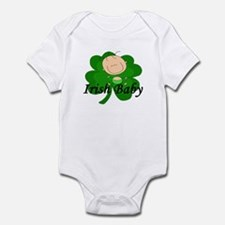 Irish Baby Shamrock Infant Bodysuit