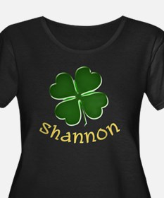 Shannon Irish Women's Plus Size Scoop Neck T-Shirt