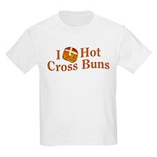 I Love Hot Cross Buns T-Shirt