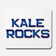 kale rocks Mousepad
