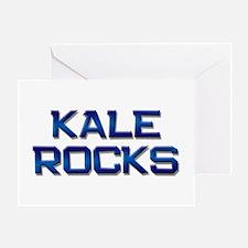 kale rocks Greeting Card