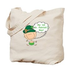 First St. Patty's Day Baby Tote Bag