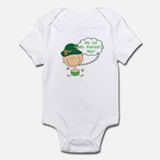First St. Patty's Day Baby Infant Bodysuit