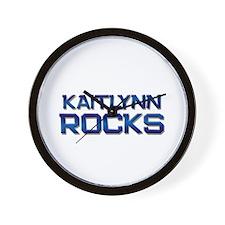 kaitlynn rocks Wall Clock