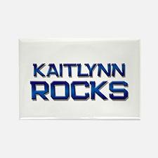 kaitlynn rocks Rectangle Magnet