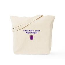 Purple Nurples Tote Bag