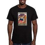 Wake Up America Men's Fitted T-Shirt (dark)