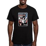 Wake Up America Day Men's Fitted T-Shirt (dark)