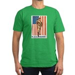 Be a US Marine Men's Fitted T-Shirt (dark)